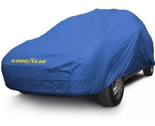 Funda Cubre Auto Impermeable Silver Good Year Alta Calidad.