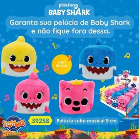 Pelúcia Baby Shark Musical Cubo - Original Toyng