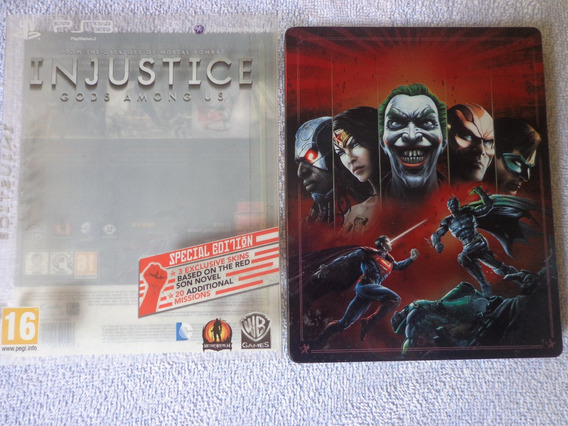 Ps3 - Injustice Special Limited Steelbook Edition