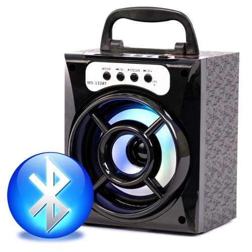 Caixa De Som Bluetooth Portátil Kit 4 Uni Caixinha Rádio Fm