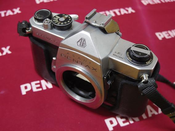 Camera Pentax Spotmatic + Case Couro Original