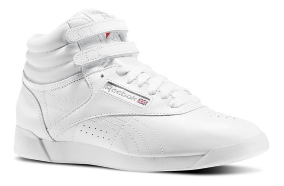 Zapatillas De Niños Niñas Botitas Reebok Freestyle Blancas