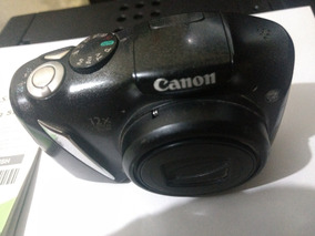 Camera Canon Powershot Sx130 Is - 12.1mp 12x Zoom De Ótico