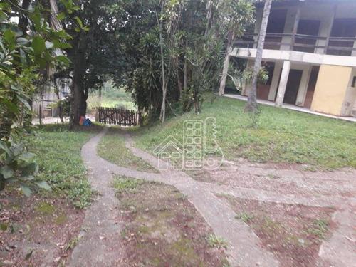 Chácara Com 6 Dormitórios À Venda, 16000 M² Por R$ 580.000,00 - Maria Paula - Niterói/rj - Ch0002