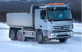 Cadenas Nieve Hielo Textiles Autosock Para Camion