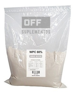 Whey Protein Proteina De Suero Concentrada 80% 5kg. Wpc 80%