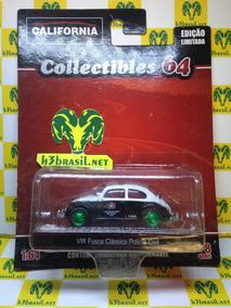 Bx403 California Toys Vw Fusca Policia Civil Green Machine