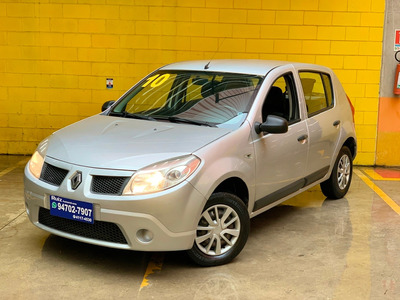 Renault Sandero Expression 1.0 Completo Impecável Baixa Km