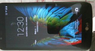 Smart Phone Lg K10-430tv. Preto