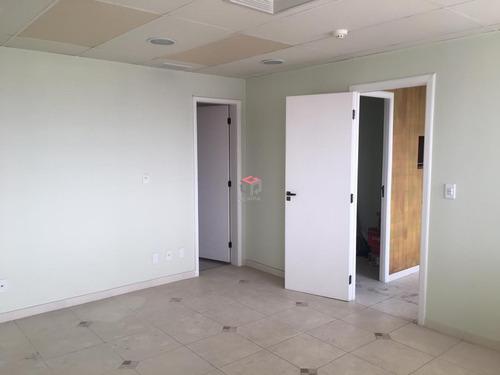 Imagem 1 de 12 de Sala Comercial Para Locação, 2 Vagas - Paraíso - Santo André / Sp  - 97318