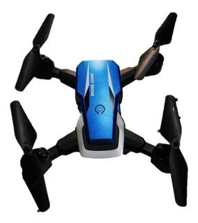 Dron De Bolsillo Portátil Con Cámara Wifi Y Control Remoto