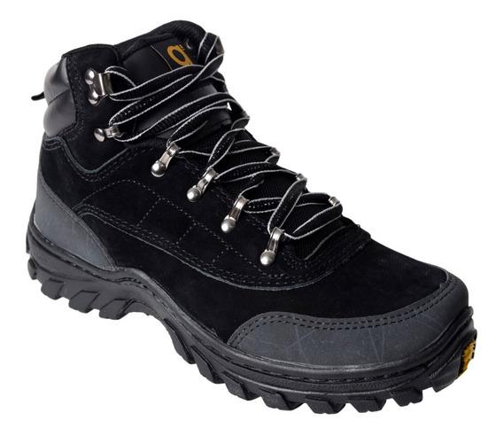 Zapatillas Botitas Trekking Hombre Gummi 801 Cordon Invierno