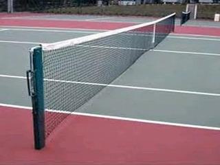 Rede De Tênis Oficial Competição Saibro Quadra Grama