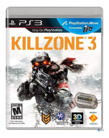 Killzone 3 Ps3 Original Completo Mídia Física Em Português