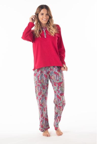 Pijama Dama Mariené Arabescos Invierno 2020