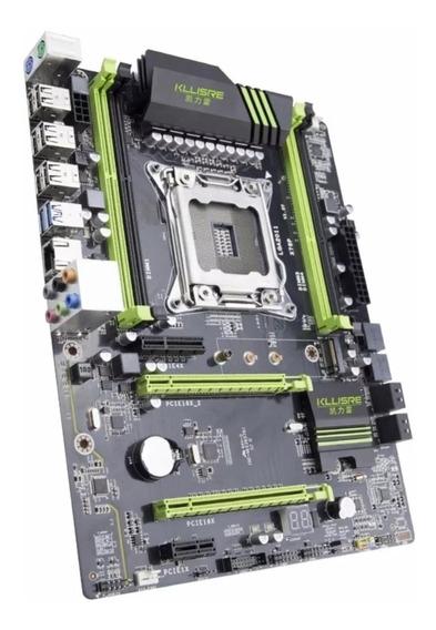 Placa-mãe Kllisre X79 Lga2011 Atx Nvme M.2 Reg Ecc Xeon E5