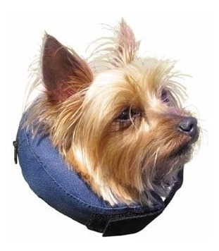 Collar Tipo Isabelino Inflable Perros Xsm, Americano