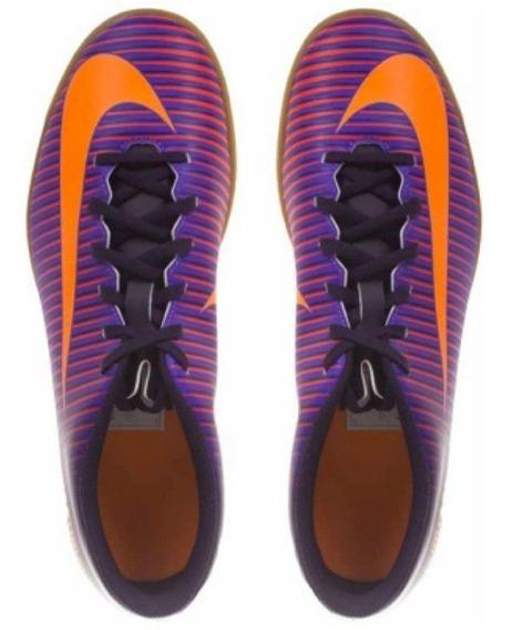 Tenis Nike Mercurialx Vortex Iii Ic 831970-585 Johnsonshoes