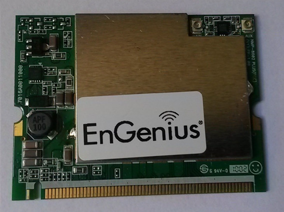 Cartão Mikrotik Mini Pci Engenius Emp-8602 Plus-s Fcc V3 Lfp