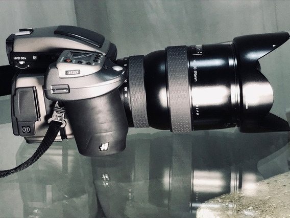 Hasselblad H3d2 Back 31mp + Lente 50mm 110mm + Lente 80m