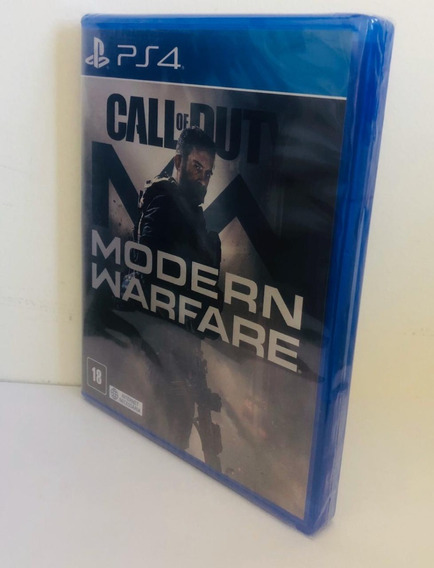 Jogo Call Of Duty Modern Warfare Ps4 Mídia Física