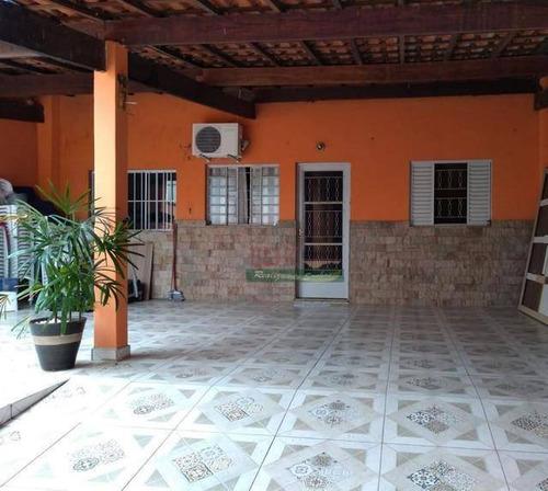 Imagem 1 de 8 de Casa Com 3 Dormitórios À Venda Por R$ 265.000 - Conjunto Residencial Inocoop - Caçapava/sp - Ca4876