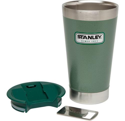 Stanley Vaso Con Destapador Verde
