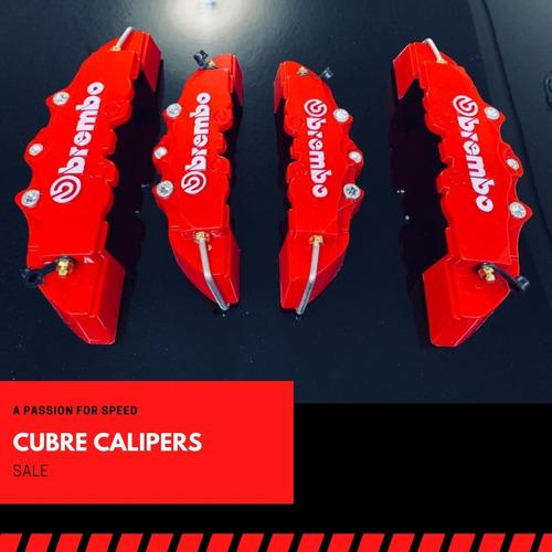 Imagen 1 de 7 de Cubre Caliper Brembo Kit 4 Piezas (24 - 19 Cm)