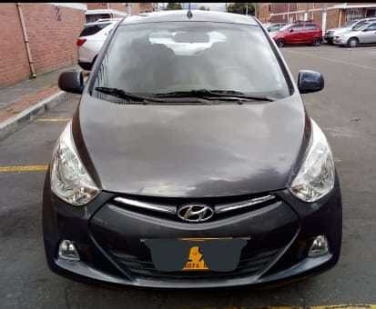 Hyundai Eon, 2016 5 Puertas Gris, 814 Cc