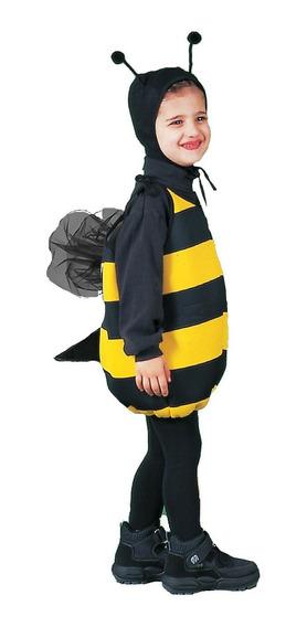 Disfraz Para Niño De Abeja Talla De 3-5 Años