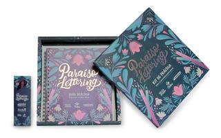 Libro Paraíso Lettering + Punta Pincel Edding