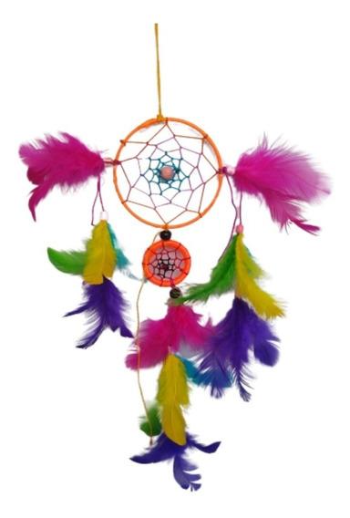 Filtro Dos Sonhos Com Penas Coloridas Arco-iris Ref: 9359