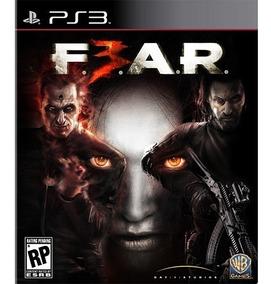 Game Fear 3 - Ps3 - Novo Lacrado