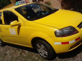 Taxi 2016 Chevrolet Aveo Family Con Puesto Legal Cooperativa