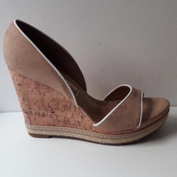 Zapatos Taco Chino Vizzano, Número 38 En Excelente Estado!