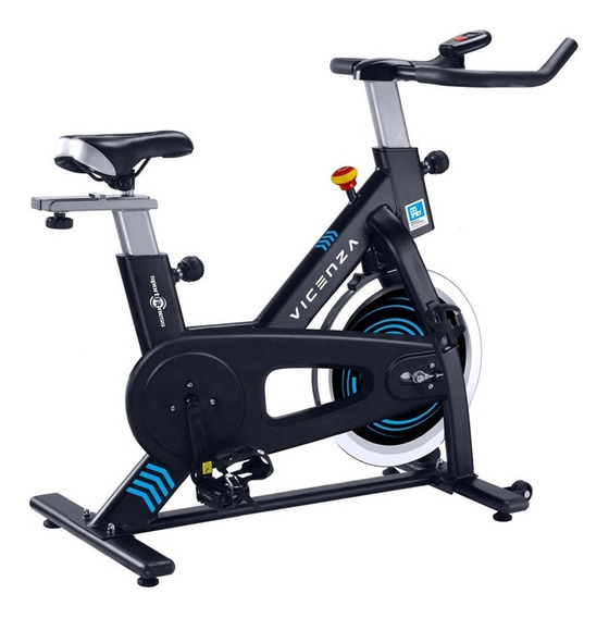 Spinning Magnética Vicenza 2.0 Peso Max 100kg Volante 6kg