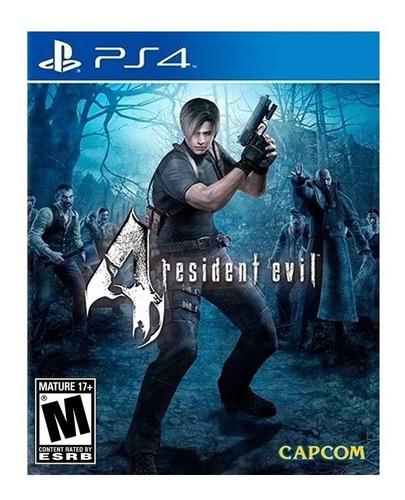Imagen 1 de 4 de Resident Evil 4 PS4 Físico