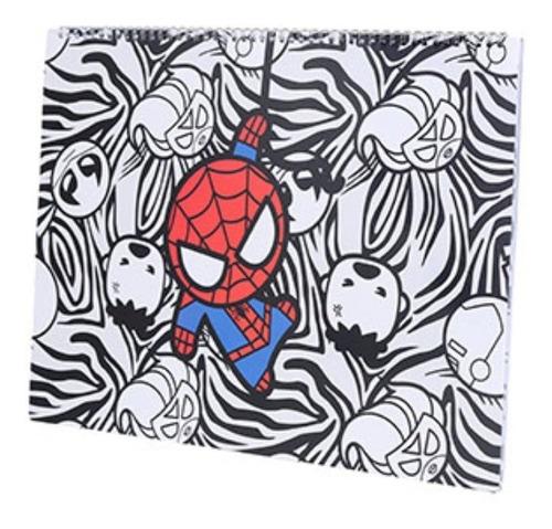 Caderno A3 Miniso - Marvel Spider Man