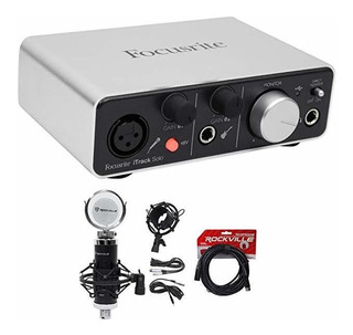 Placa Audio Focusrite Itrack Solo Luzning Usb Audio Grabac ®