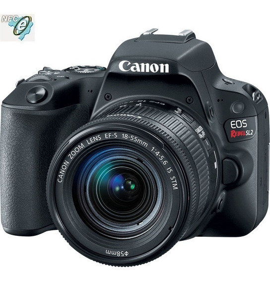Canon Eos Sl2 24.2mp 18-55mm Is Stm Nota Fiscal
