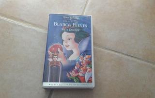 Película Vhs Blancanieves Edición Especial