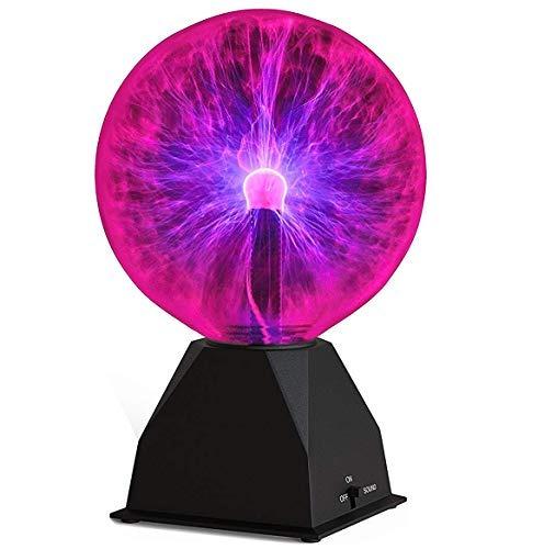 Bola De Plasma -7.5 Pulgadas - Nebulosa, Relámpago De