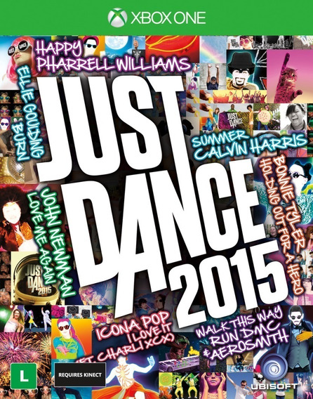 Dvd De Jogo Para Xbox One - Just Dance 2015