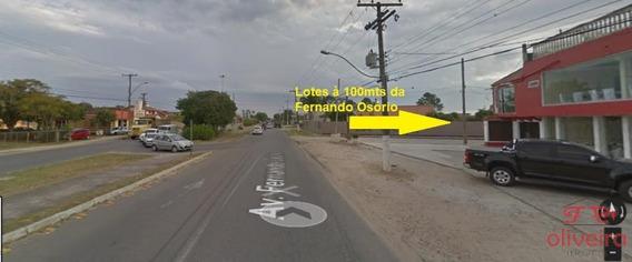 Terrenos Nas Três Vendas, À 150mts Da Av. Fernando Osório - 7581