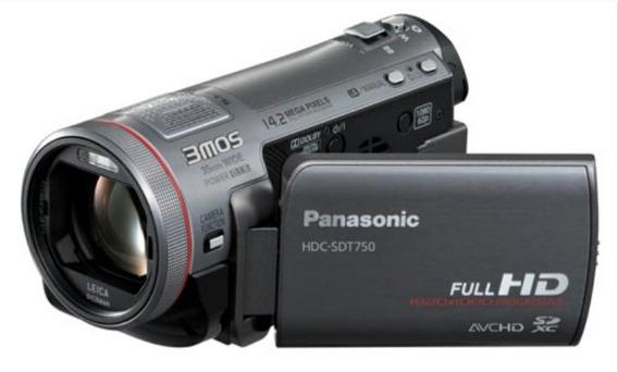 Filmadora Full Hd Panasonic Hdc-sdt750 Entrada De Micrófono