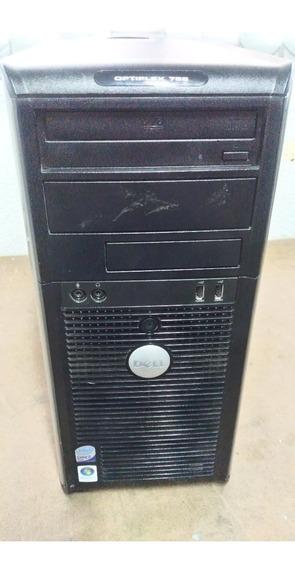 Cpu Dell Modelo Optiplex 755 - Hd 80 Gb - Usado