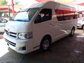 Flamante Toyota Hiace Van Gl 2013 15 Pasajeros