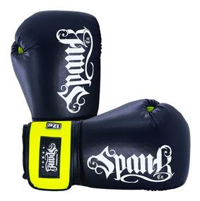 Luva De Boxe Fluor Spank Amarela