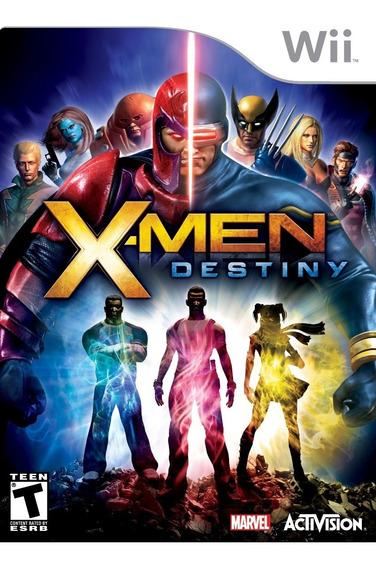 Jogo X-men Destiny Nintendo Wii Original Pronta Entrega Game