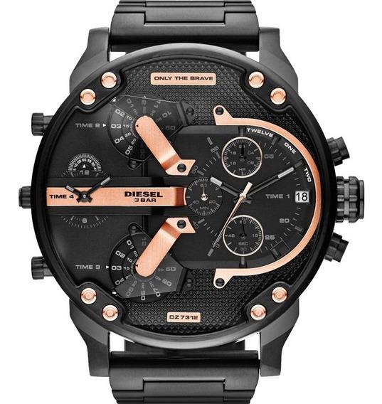 Kit 3 Relógiodieselmasculinodz7312/1pn